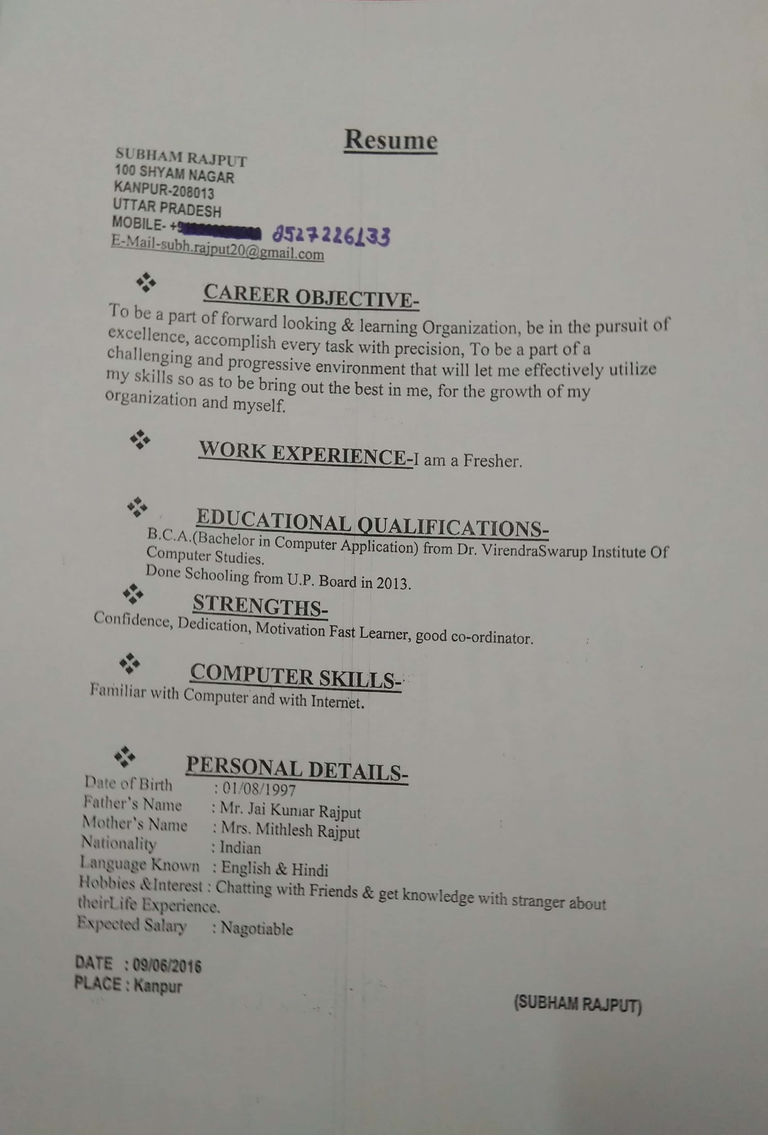 good resume names - Picture Ideas References